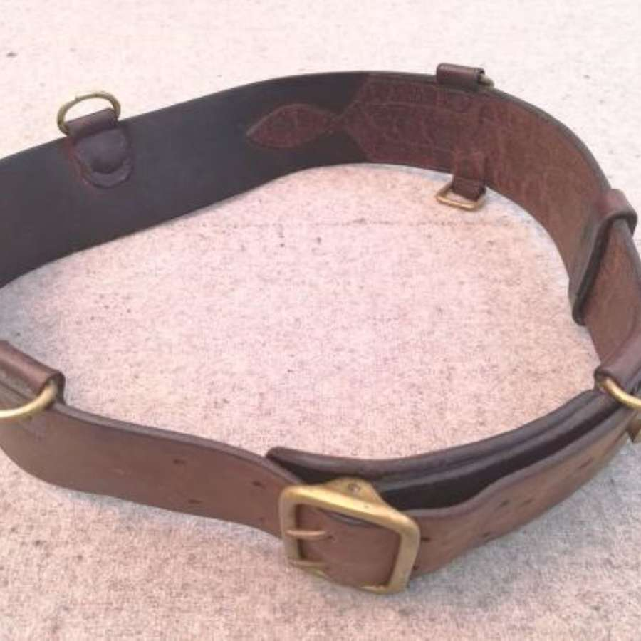 Great War Double Buckle Sam Browne Belt