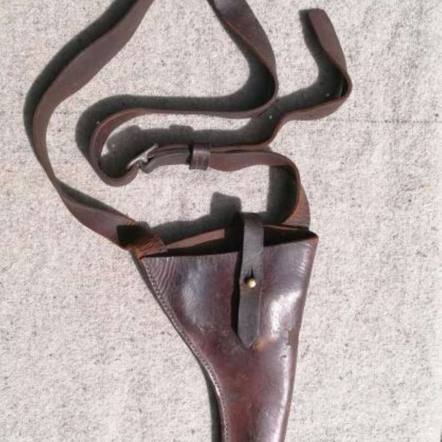 Great War MGC/ Tank Corps .455 Leather Shoulder Holster