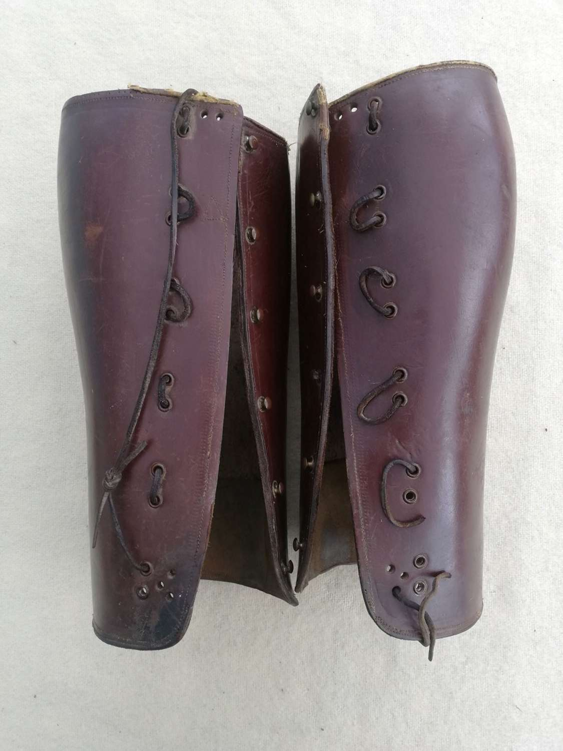 Great War Period Officers Leather Gaiters