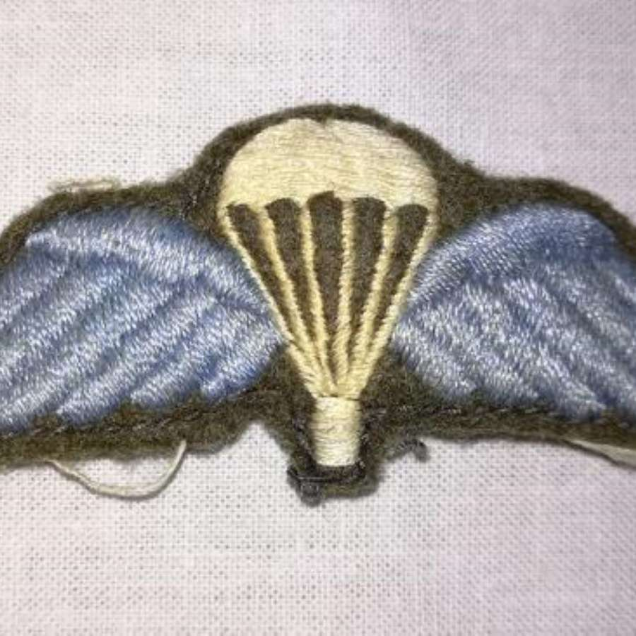 Post-WW2 Parachute Qualification Wings