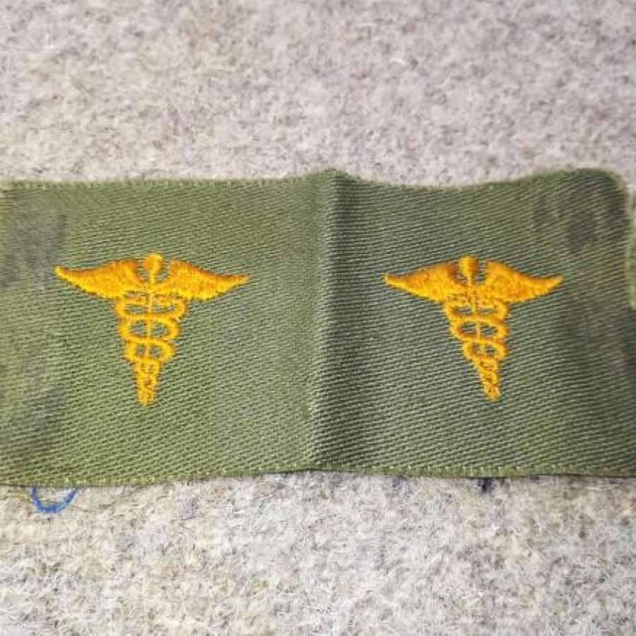 Un-cut Vietnam War Era Subdued US Medical Patches