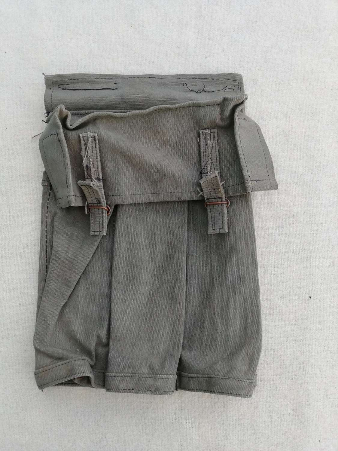 Post-WW2 Custom Made Sterling Submachine Gun Magazine Pouch