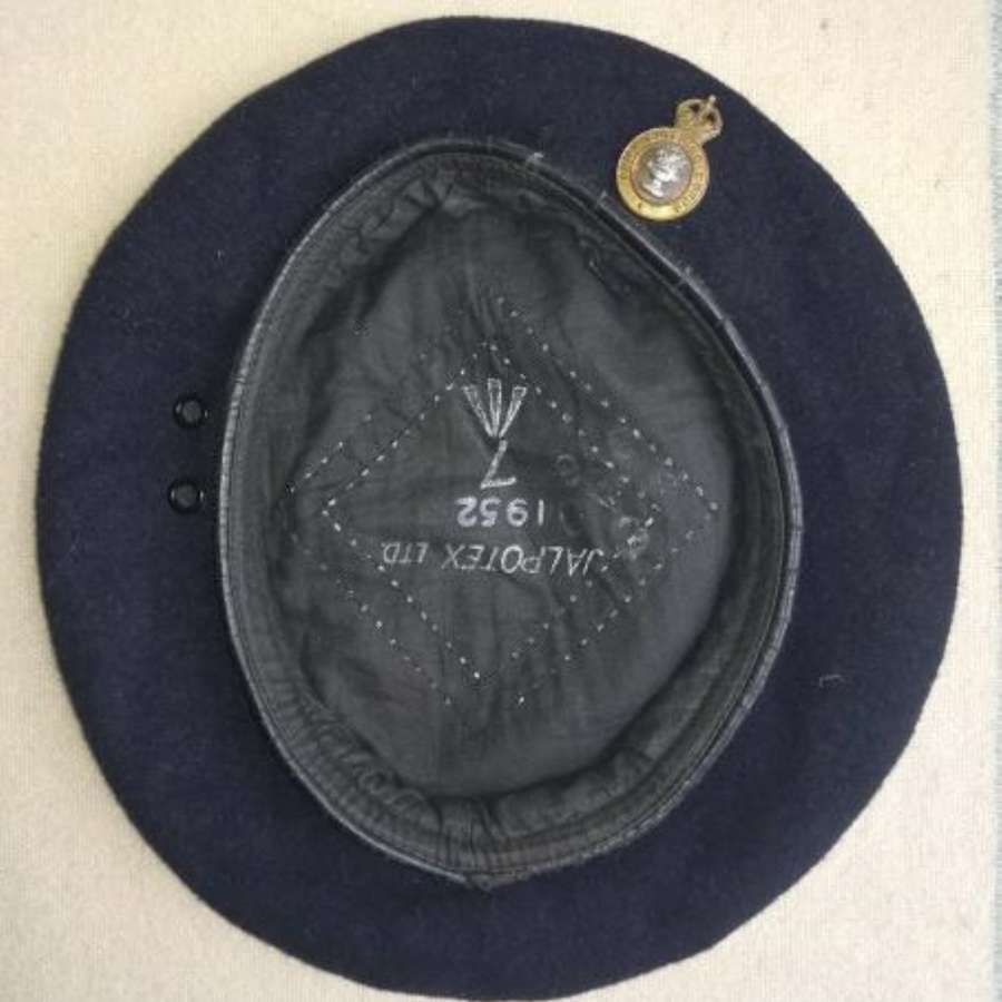 1952 British Blue Beret Army Catering Corps