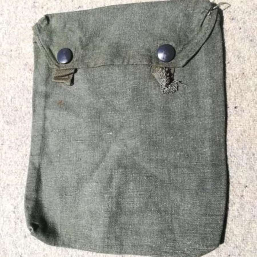 Late-WW2 German Army Gas Cape Bag