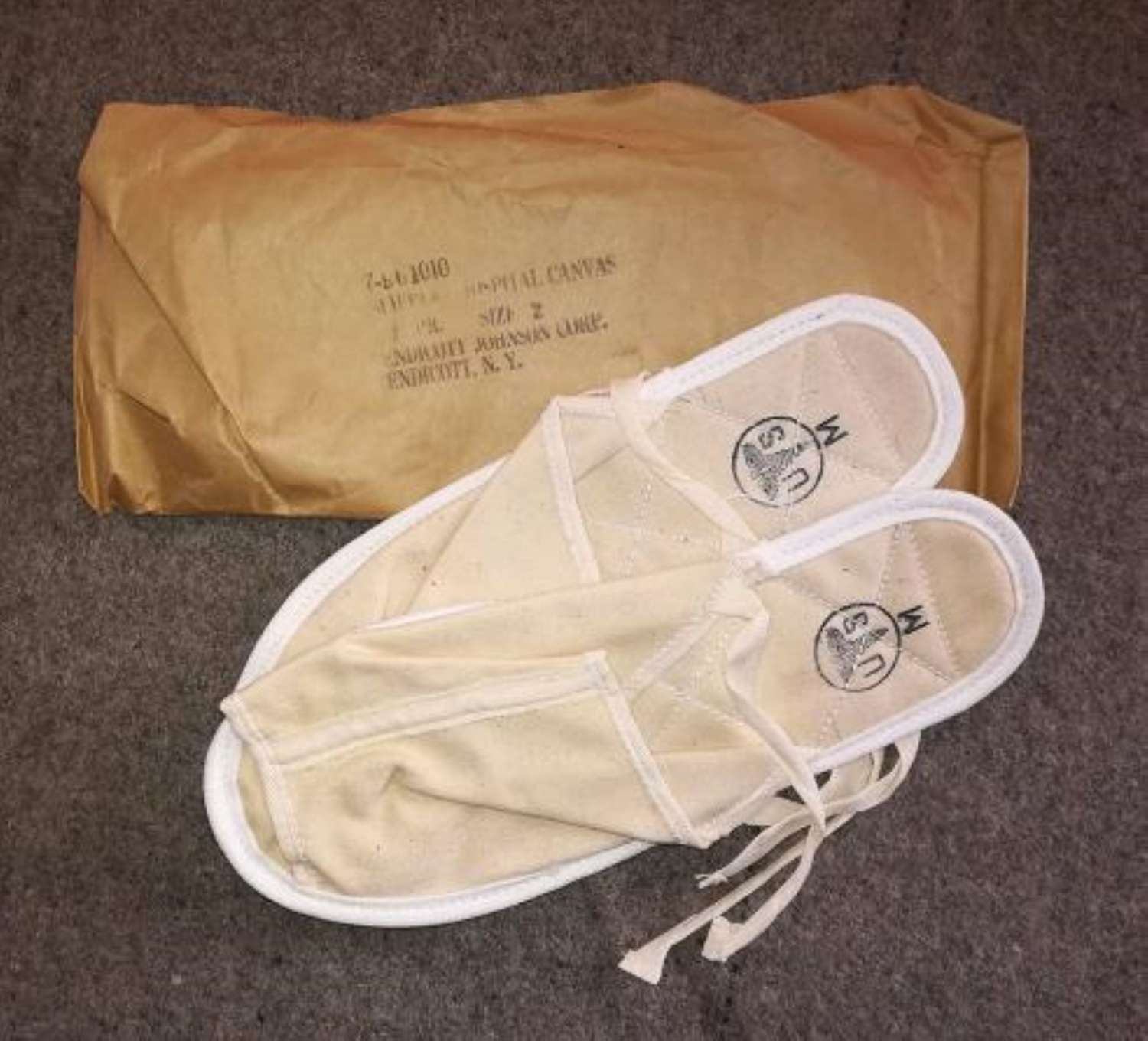 Unissued US Army Hospital Slippers