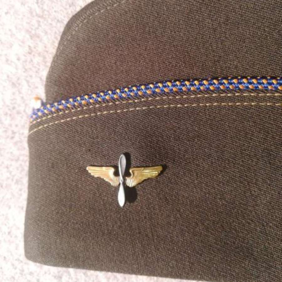 WW2 USAAF Aviation Cadet Garrison Cap