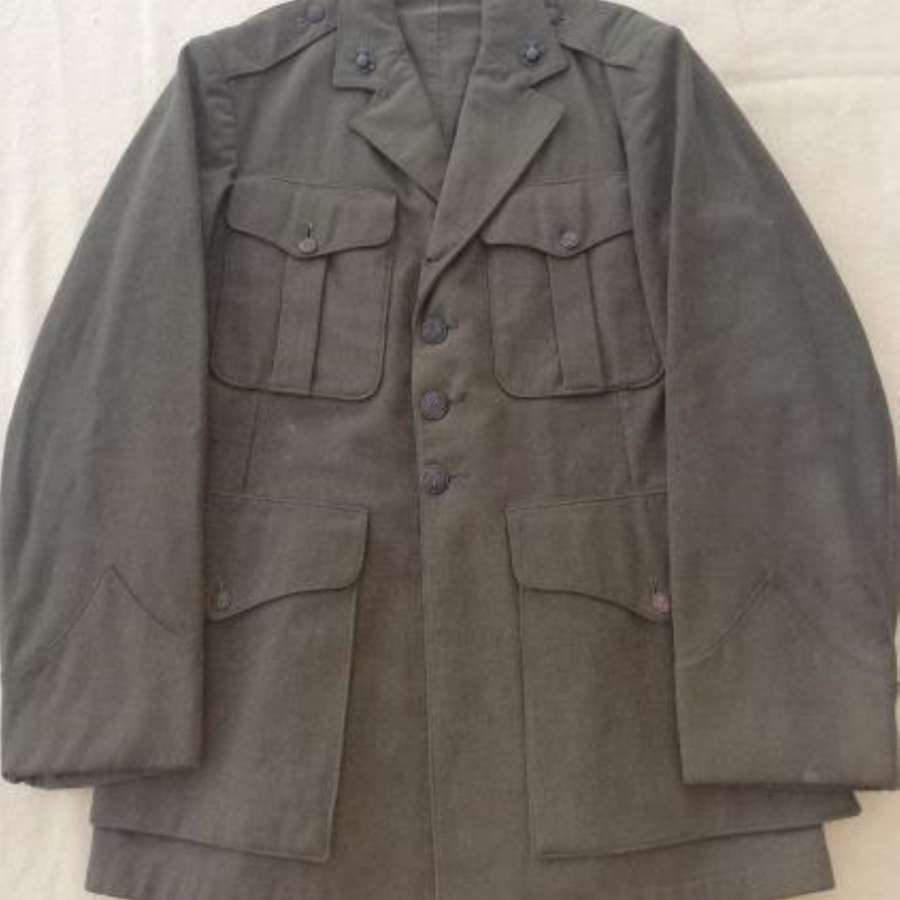 1940/41 Dated Named USMC Wool Service Tunic