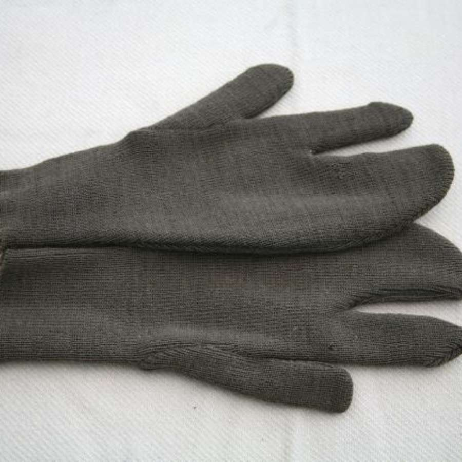 Unissued WW2 US Winter Wool Trigger Mitten Gloves