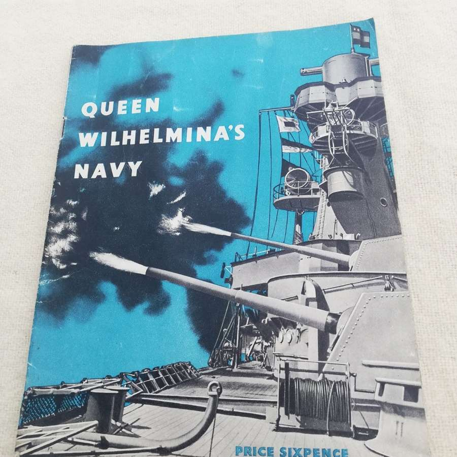 'Queen Wilhelmina's Navy' HMSO Booklet 1944