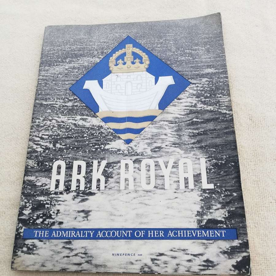 'Ark Royal' HMSO Booklet 1942