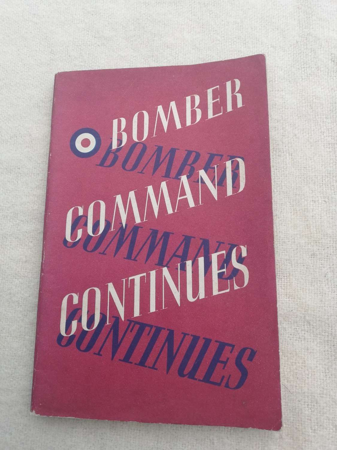 'Bomber Command Continues' HMSO Booklet 1942