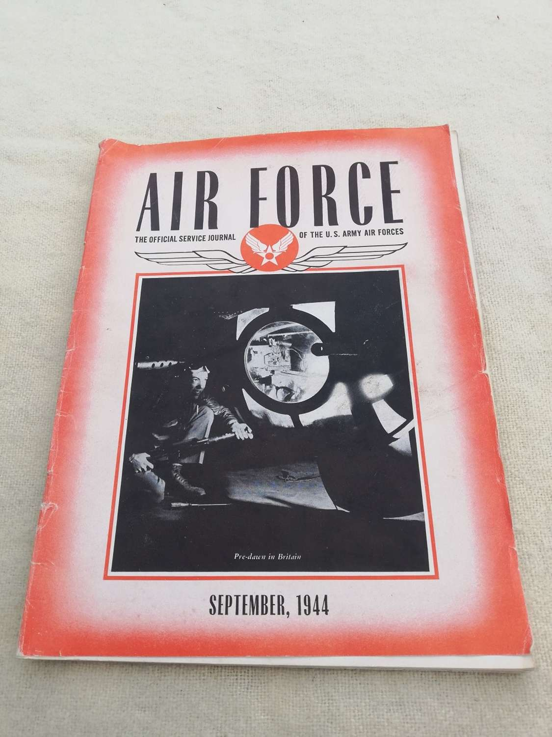 'Air Force' USAAF Magazine September 1944