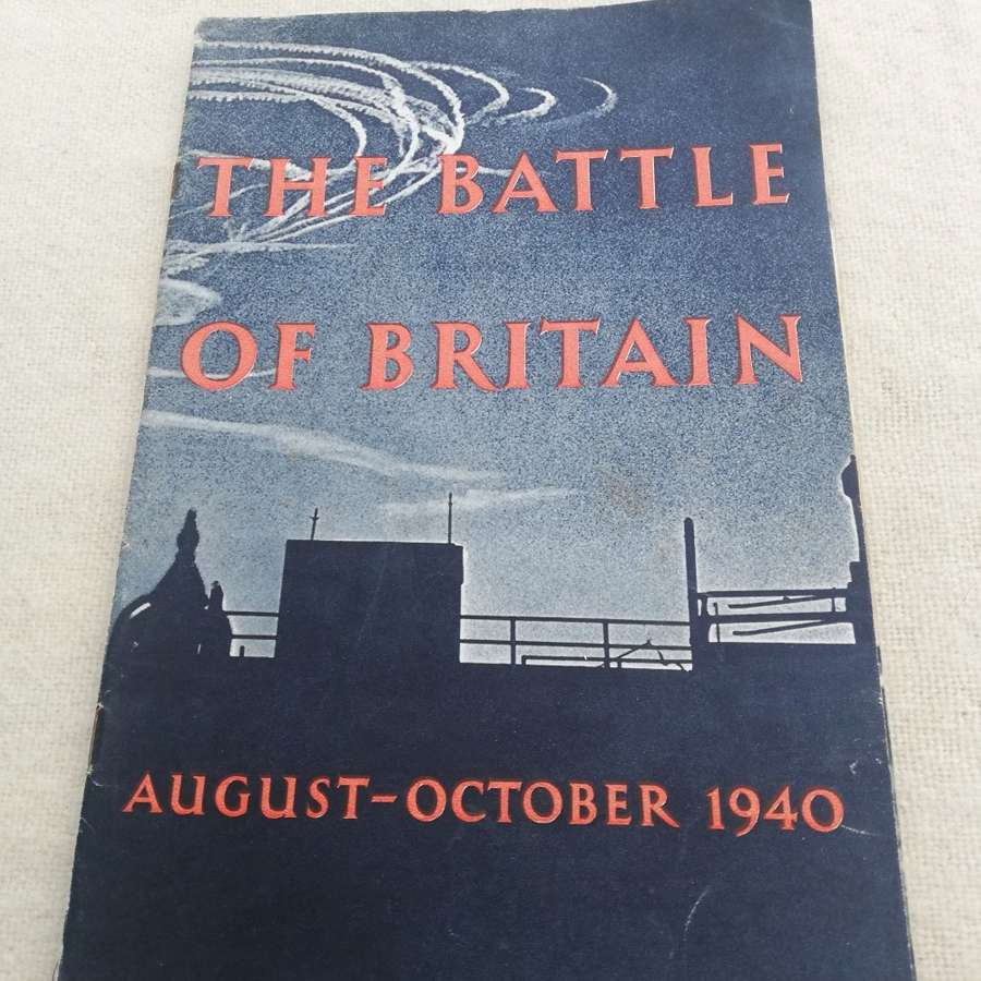 'The Battle of Britain' Booklet HMSO 1941