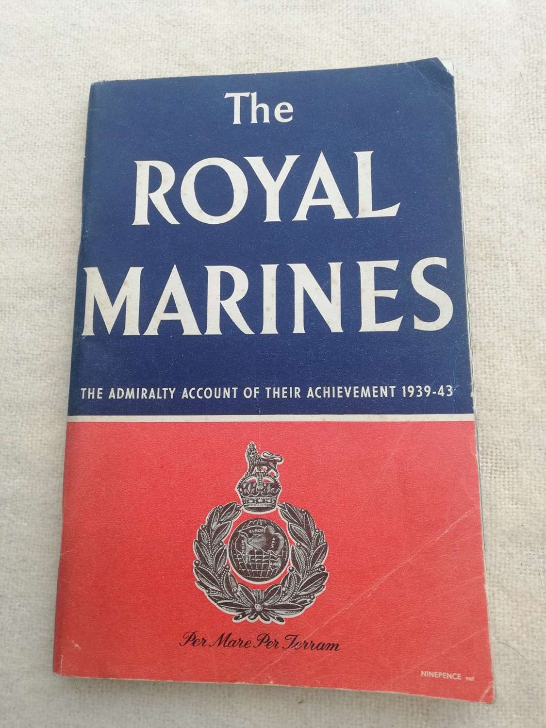 'The Royal Marines' HMSO Book 1944