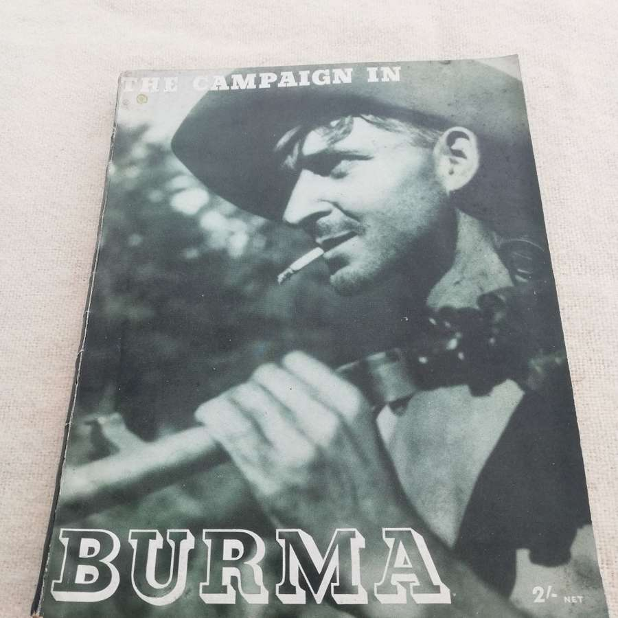 'The Campaign in Burma' HMSO Book 1946