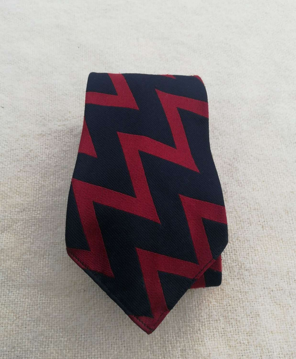 Royal Artillery Veteran Striped Tie