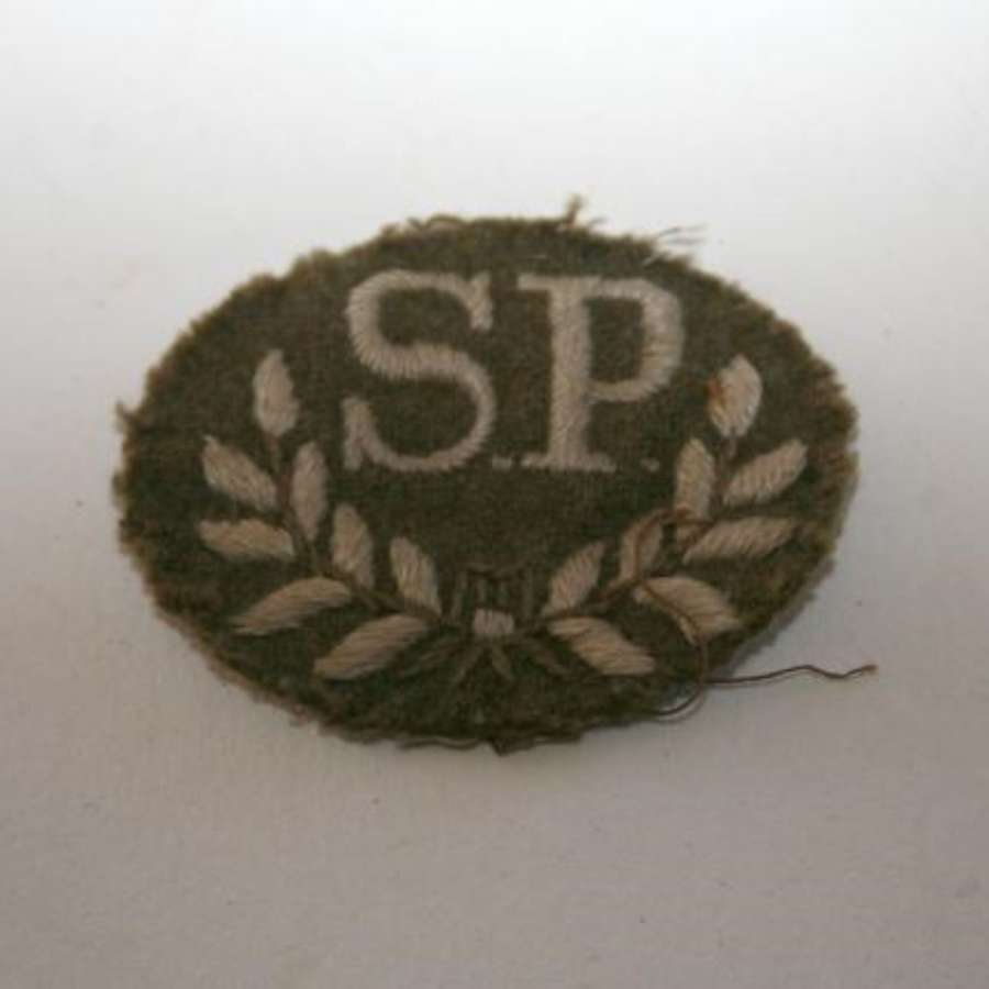 Special Proficiency Cloth Embroidered Trade Sleeve Badge