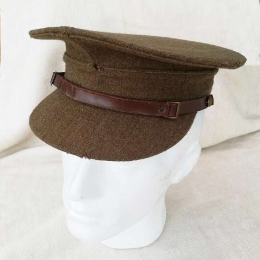 Inter-War Army OR Service Dress Stiff Peaked Cap