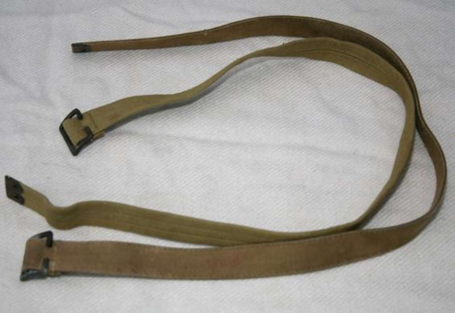 British Army Rubberised Economy Large Pack Straps Pair