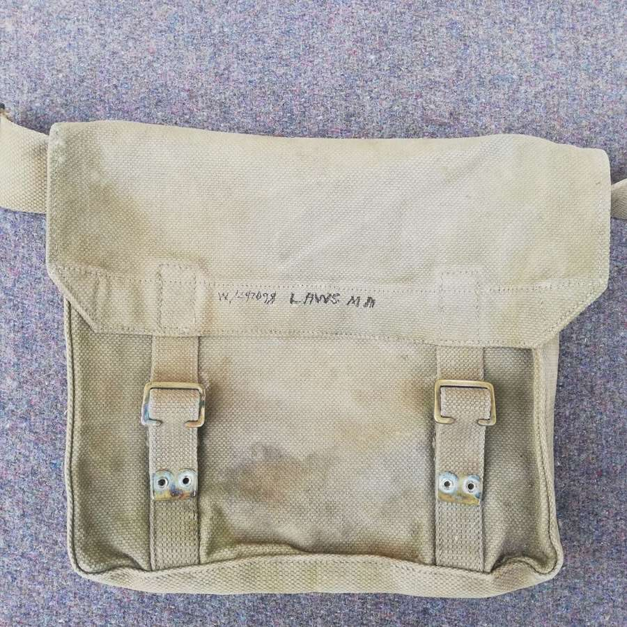 1908 Pattern Webbing Haversack ATS Marked