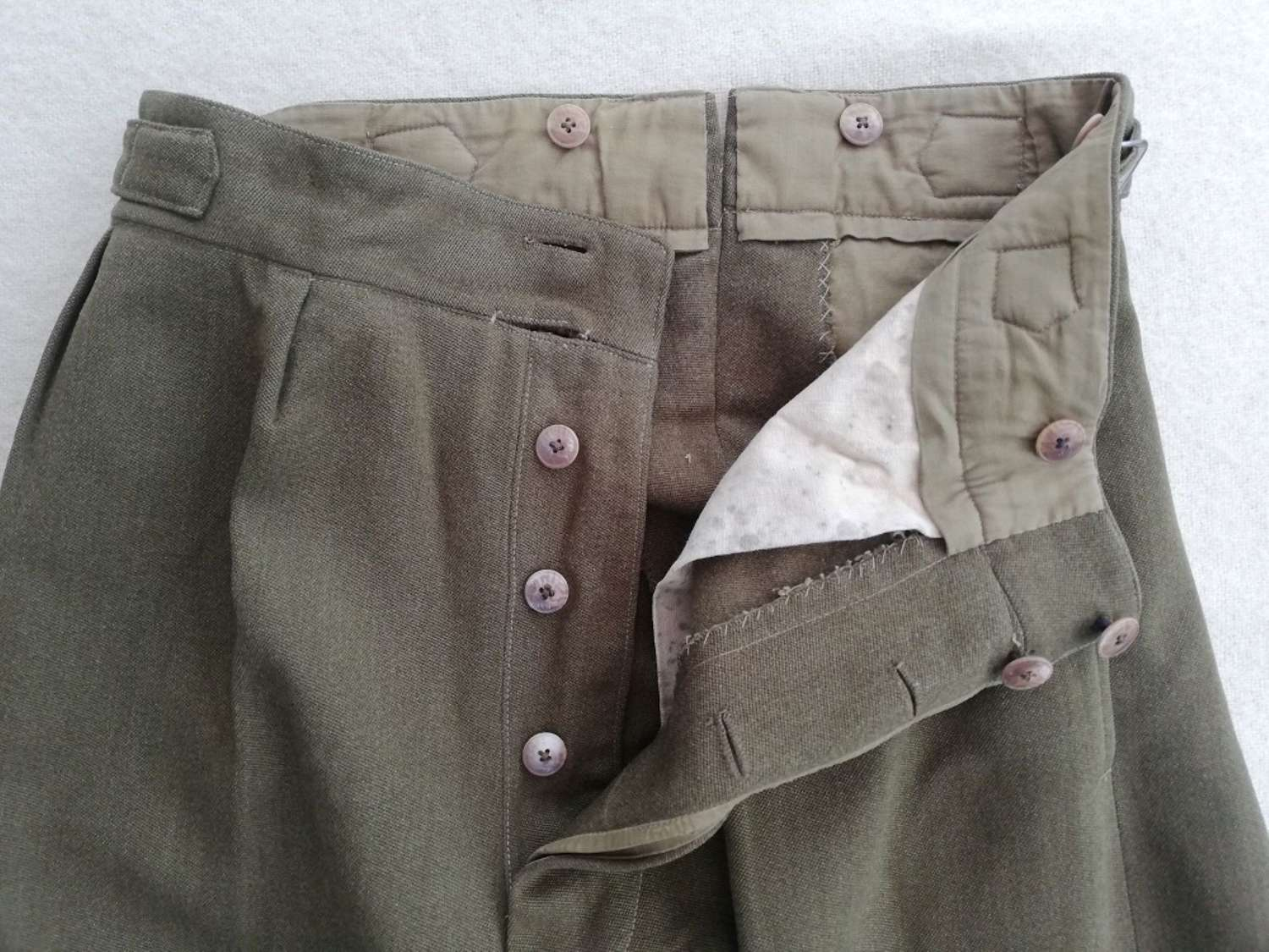 Army Officers Barathea Service Dress Trousers