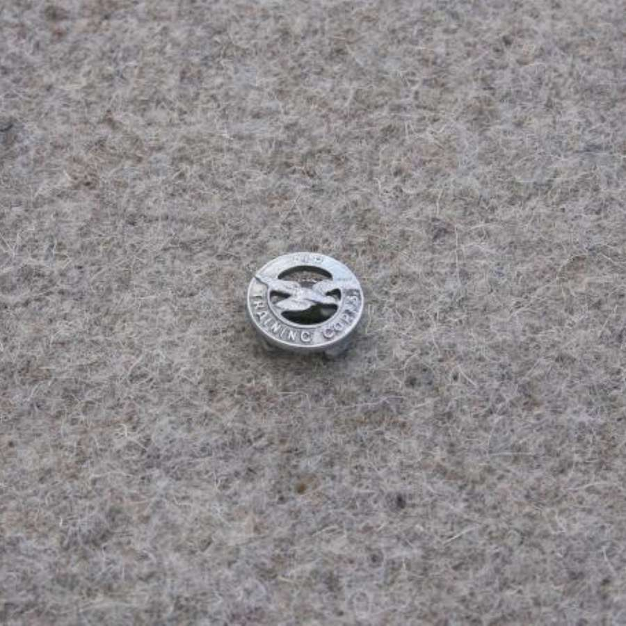 Silver Air Training Corps Lapel Badge