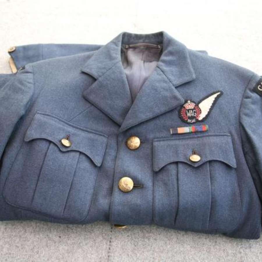 RCAF WAG Officer's Service Dress Aircrew Uniform ACE CVSM