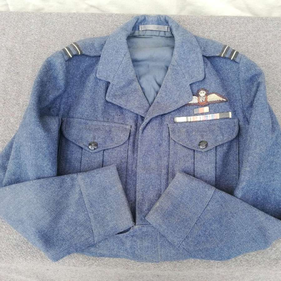 1951 RAF Aircrew Pilot War Service Dress Blouse
