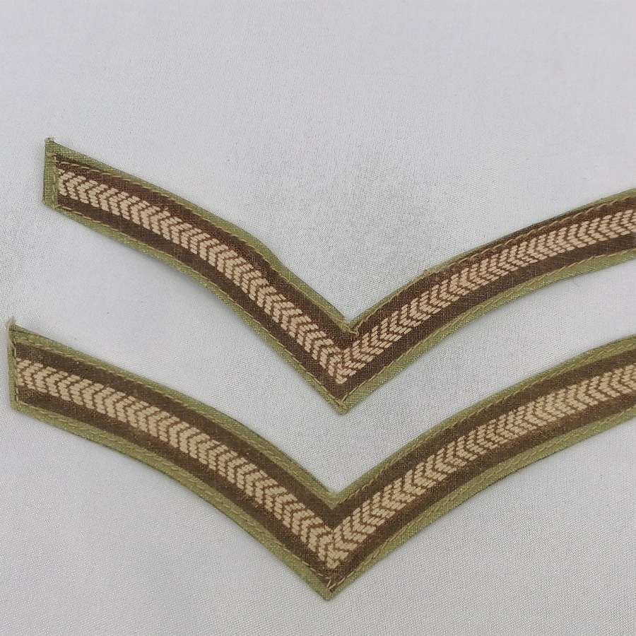 Tropical Printed Lance Corporal Stripes Pair