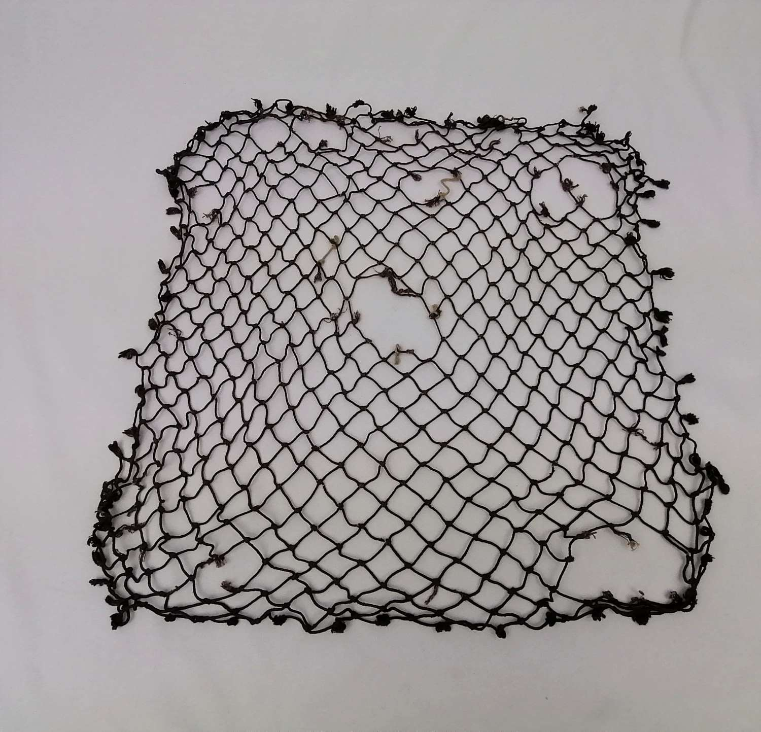 Dark Brown British Helmet Net