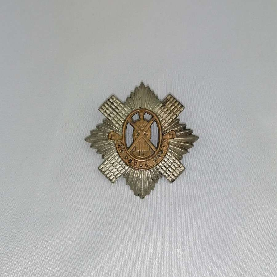 The Royal Scots Regiment Scottish Cap Badge