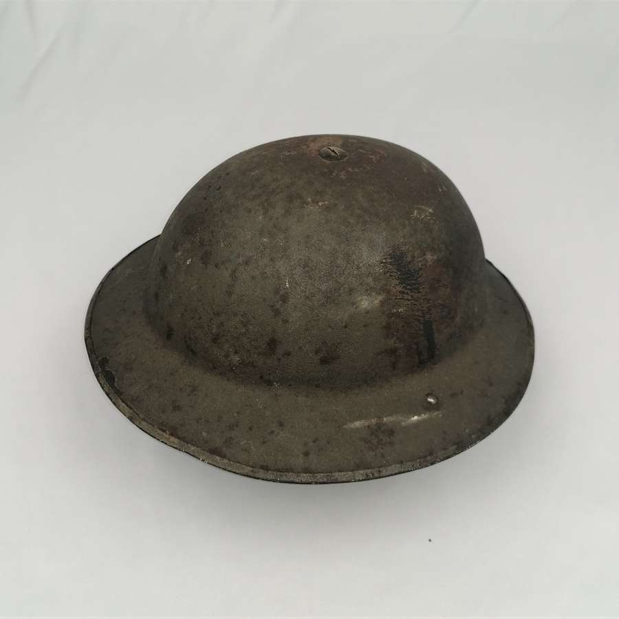 1938 MK1* Steel Helmet Ex Unit Flash Example