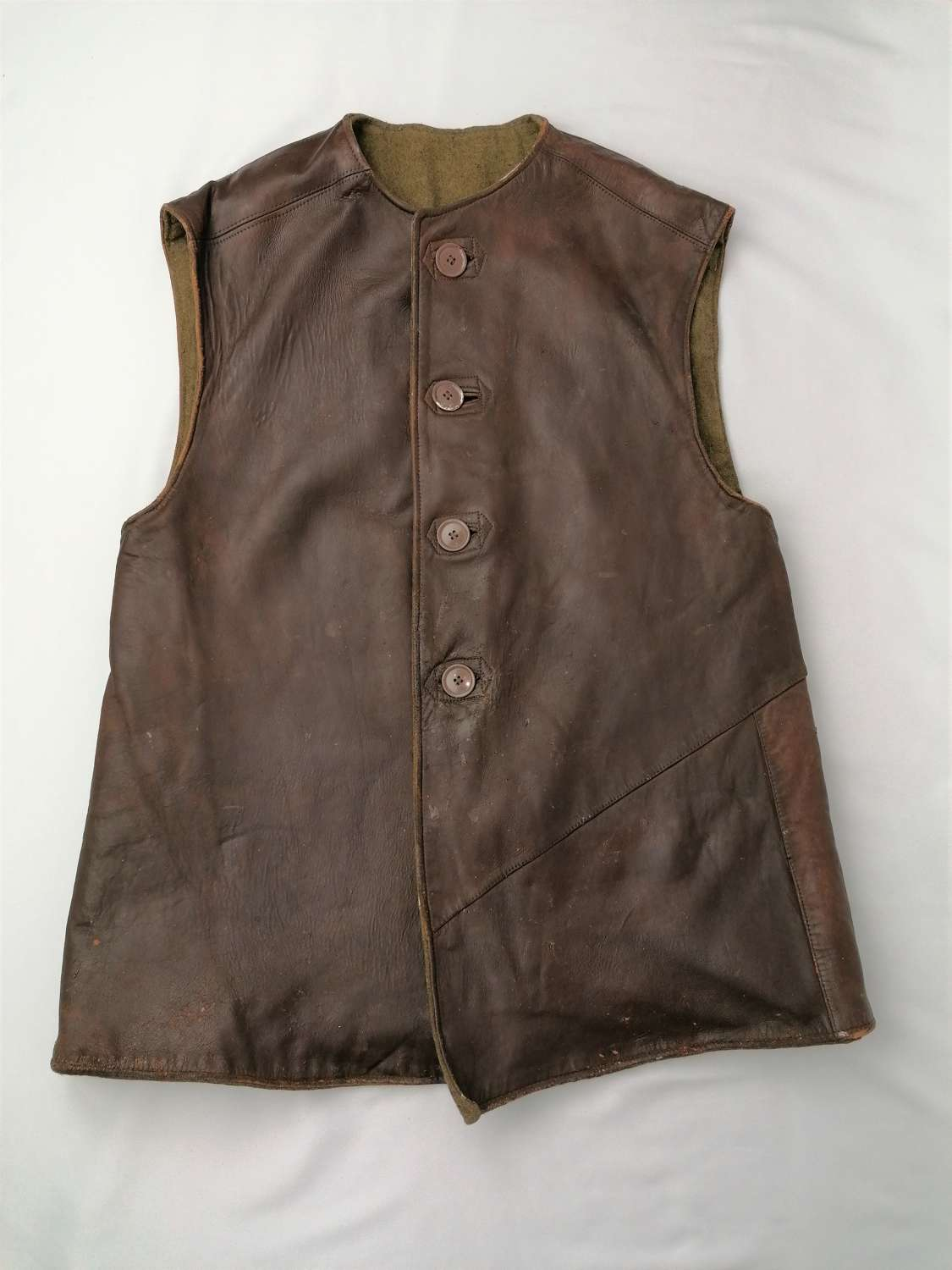 Early War British Leather Jerkin