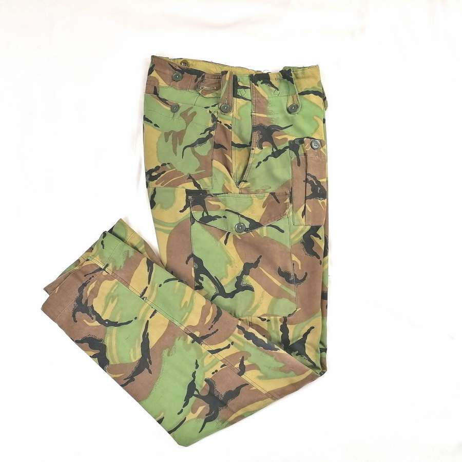 1968 Pattern DPM Lined Camouflage Trousers