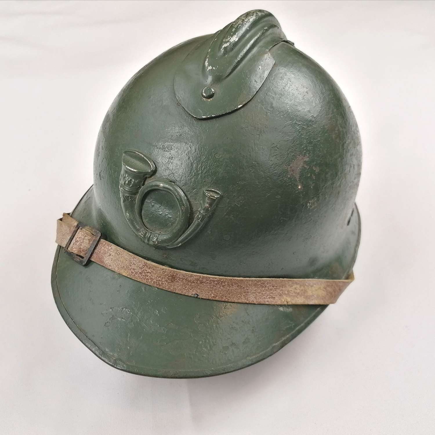 French Chasseurs Alpin Mountain Troops M26 Steel Helmet