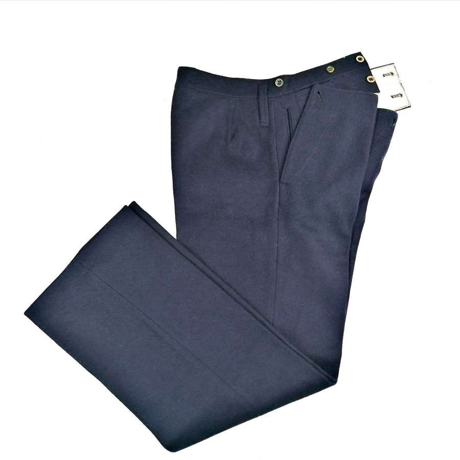 WW2 Period French Navy Wool Trousers