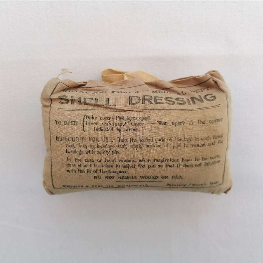 1945 RAF Air Ministry Shell Dressing